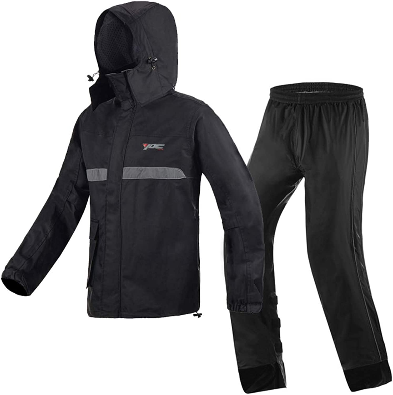 YXF-Rain Suits Multi-Functional Jacket Pants Suit Raincoat Windbreaker Split Rainwear Sportswear Rainproof Reusable Warm for Adult for Outdoors Sport Storm Camping Cycling
