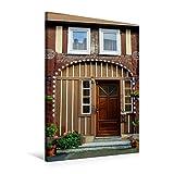 CALVENDO Premium Textil-Leinwand 60 x 90 cm Hoch-Format Türen und Portale aus Grebenstein, Leinwanddruck von Markus W. Lambrecht