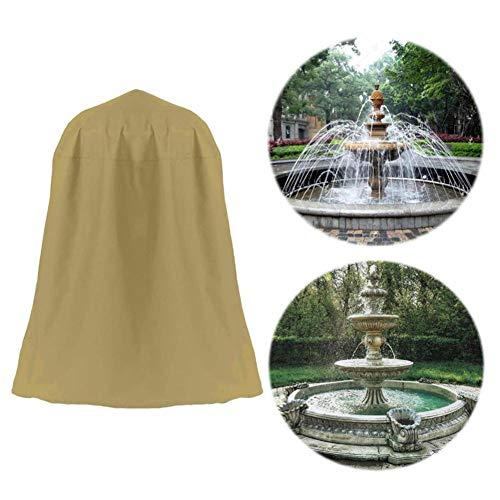 WXGY Wasserdichter langlebiger Brunnen Staubschutz Brunnenabdeckung Statue Schutzschild für Garten im Freien 36