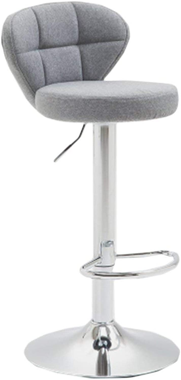 Bar Stools Home Bar Stools, Bar Chair Household Bar Chair High Stool Modern Simple Lift Swivel Chair Adjustable Height with Armrests Stool (color    5)