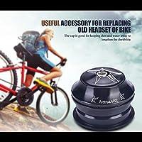 自転車のヘッドセット、防錆自転車のヘッドセット、自転車のヘッドセットセット、家庭用の特大MTB自転車店用のアルミニウム合金自転車(黒, 12)