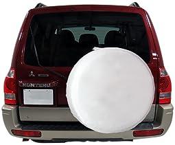 "RV White Spare Tire Cover 31""-33"" For Trailer/Camper/Motorhome"