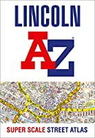 Lincoln A-Z Super Scale Street Atlas: A4 Paperback