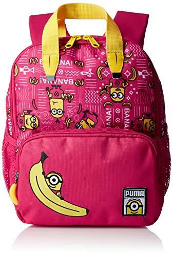 PUMA Kinder Minions S Backpack Rucksack, Love Potion/AOP, 22 x 12 x 28 cm