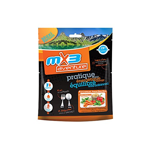 MX3 - Comida liofilizada pasta vegetarian