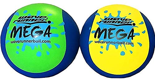 Wave Runner Mega Ball #1 Water Ball for Skipping and Bouncing The Perfect Pool...