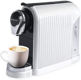 MiXPRESSO Elite Coffee Maker Espresso Machine   For Nespresso Compatible Capsules   19 Bar High-Performance Italian Pump l Automatic Energy-Saving function   White   For Mixpresso Capsules