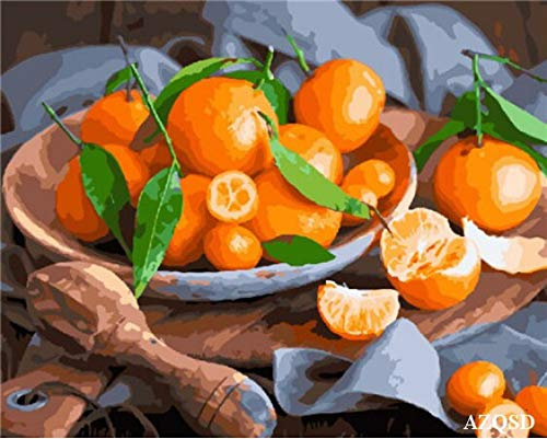 Stephen Paint by Number - 50x40cm Oil Painting Food modern Colorful Picture DIY Painting by Numbers Fruit Acrylic Home Decor Living Room unframed - by 1 PCs