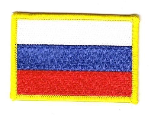 Flaggen Aufnäher Patch Russland Flagge Fahne NEU [Misc.]