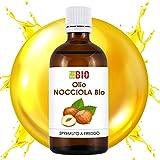 Olio di Nocciola Bio 50 ml - Viso Capelli Terapeutico - Spremuto a freddo LaborBio