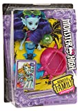 Monster High FCV67 Monster Family Ebbie Bluedoll...