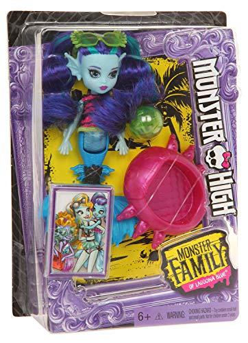 Monster High FCV67 Monster Family Ebbie Bluedoll