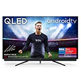 TCL 65C815 QLED Fernseher (65 Zoll) Smart TV (4K Ultra HD, HDR 10+, Triple Tuner, Android TV, Dolby Vision Atmos, integrierte ONKYO Soundbar, 120Hz Motion Clarity, Google-Assistent & Alexa)