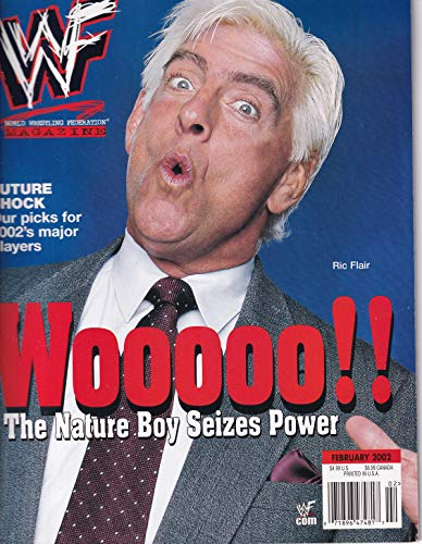 WWF Magazine Ric Flair 2002 Player Picks February 2002
