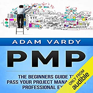 PMP: The Beginners Guide to Pass Your Project Management Professional Exam audiobook cover art