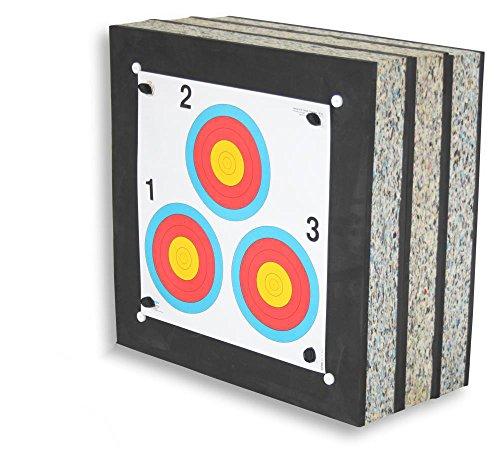 Stronghold Schaumscheibe Crossbow Max bis 250 lbs / 440 fps (60x60x30cm) | Zielscheibe ohne Zubehör