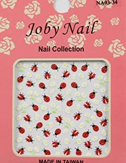 Nail Sticker/Nail Art - 3D Collection - Ladybugs
