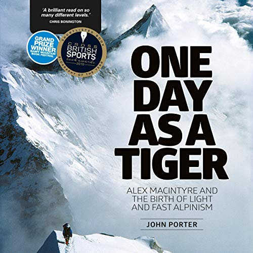 One Day as a Tiger audiobook cover art