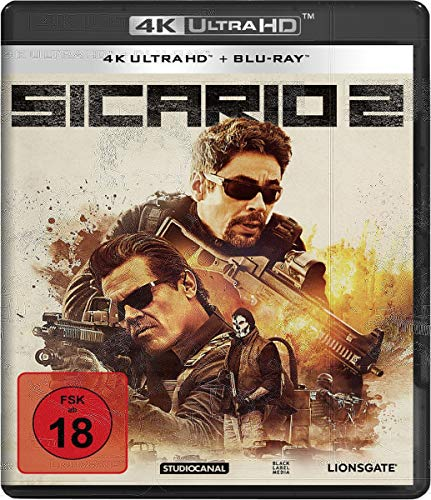 Sicario 2 (4K Ultra HD) (+Blu-ray)