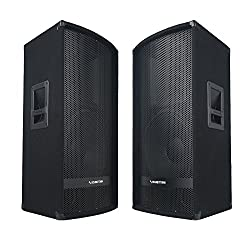 top 10 sound town speakers Soundtown 2-pack 15-inch, 700 W, passive 2-way DJ PAPro audio full-range speaker with compression …