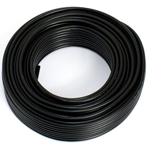Lautsprecherkabel 2x1,50mm2 - 10m - schwarz - CCA - Audiokabel - Boxenkabel