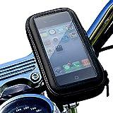 松平商会 バイク スマホホルダー 防水 落下防止 スマホケース 全機種対応 インチバー ミリバー 対応 M