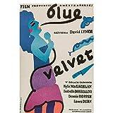 w15y8 Blue Velvet Movie Art Print Poster Wohnkultur Druck