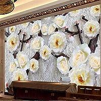 Clhhsy カスタマイズされた大きな壁画ファッションホームセンターモダンフラワーテレビ寝室リビングルーム壁壁紙-150X120Cm