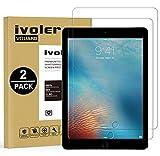 ivoler [2 Unidades] Protector de Pantalla para iPad 9.7 Pulgadas 2018 / iPad 9.7 2017 / iPad Pro 9.7 2016 / iPad Air/iPad Air 2 (iPad 5 & 6) [Garantía de por Vida], Cristal Vidrio Templado Premium