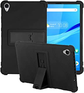 HminSen Case for Lenovo Tab M8 FHD TB-8705F TB-8705N Kids Friendly Soft Silicone Adjustable Stand Cover for Lenovo Tab M8 ...