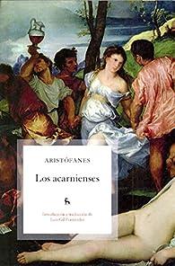 Los acarnienses par  Aristófanes
