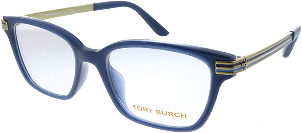 Tory Burch TY 4007U High quality 1832 49mm Rectangle Eyeglasses Navy Complete Free Shipping Plastic