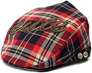 bf4e1936d4f60 Alextry Casquette avec visière pour Bonnet pour Enfant Bonnet de Bonnet  écossais Chapeau écossais de Britannique