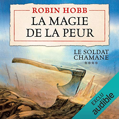 La magie de la peur audiobook cover art