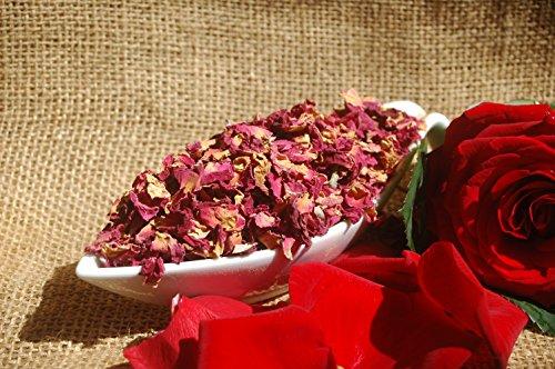 Pétalos de rosa roja 100 g