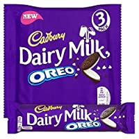 オレオ3×41グラムとキャドバリー・デイリーミルク - Cadbury Dairy Milk with Oreo 3 x 41g [並行輸入品]