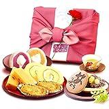 母の日 の プレゼント おいもやどら焼き ギフトセット 母の日ギフト (ピンク色風呂敷)