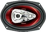BOSS Audio Systems ch6950Oval 5-Way 600W 2pc (S) Car Speaker–Car Speakers (5-Way, 600W, 300W, 4Ω, 93Db, 40–20000Hz)