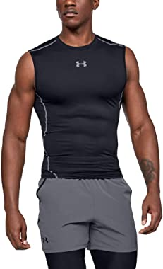 Under Armour Men's HeatGear Armour Sleeveless Compression T-shirt