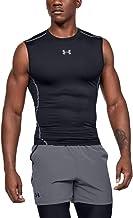 Under Armour Heatgear Armour Compressieshirt, functioneel shirt voor heren, mouwloos; comfortabele tanktop met compressiep...