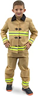 Fearless Firefighter Childrens Halloween Costume | Kids Fireman Suit Dress Up
