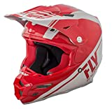 Casco MX Fly Racing 2018 F2 Carbon Rewire Rojo-gris