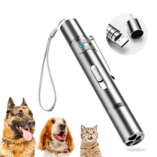 PUZMUG Laser Pointer Cat Toys for Indoor Cats, Kitten Toys, Interactive Cat Toy