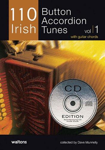 110 Irish Button Accordion Tunes: with Guitar Chords