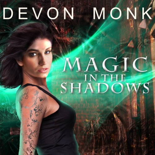 Magic in the Shadows audiobook cover art