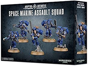 Games Workshop Warhammer 40,000 Space Marine Assault Squad