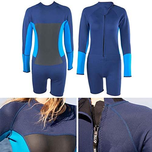 SALUTUYA Equipo de Buceo de diseño ergonómico Traje de baño de una Pieza Resistente al Desgaste, Resistente a los Rayos Ultravioleta e Impermeable, para Hacer Surf, para bucear(XXL)