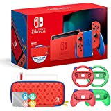 Nintendo 2021 Switch Mario Red & Blue Limited...