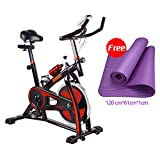 Zoom IMG-1 onetwofit cyclette da spinning bike