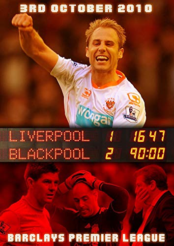 Blackpool FC - Liverpool 1 Blackpool 2- Barclay's Premier League October 3rd 2010 [DVD]